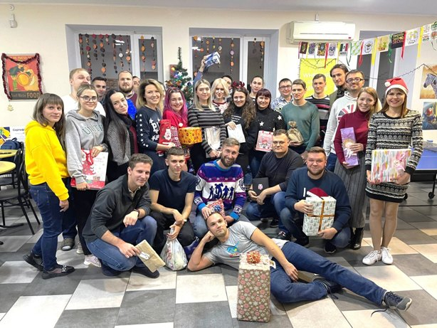 New Year in Kryvyi Rih