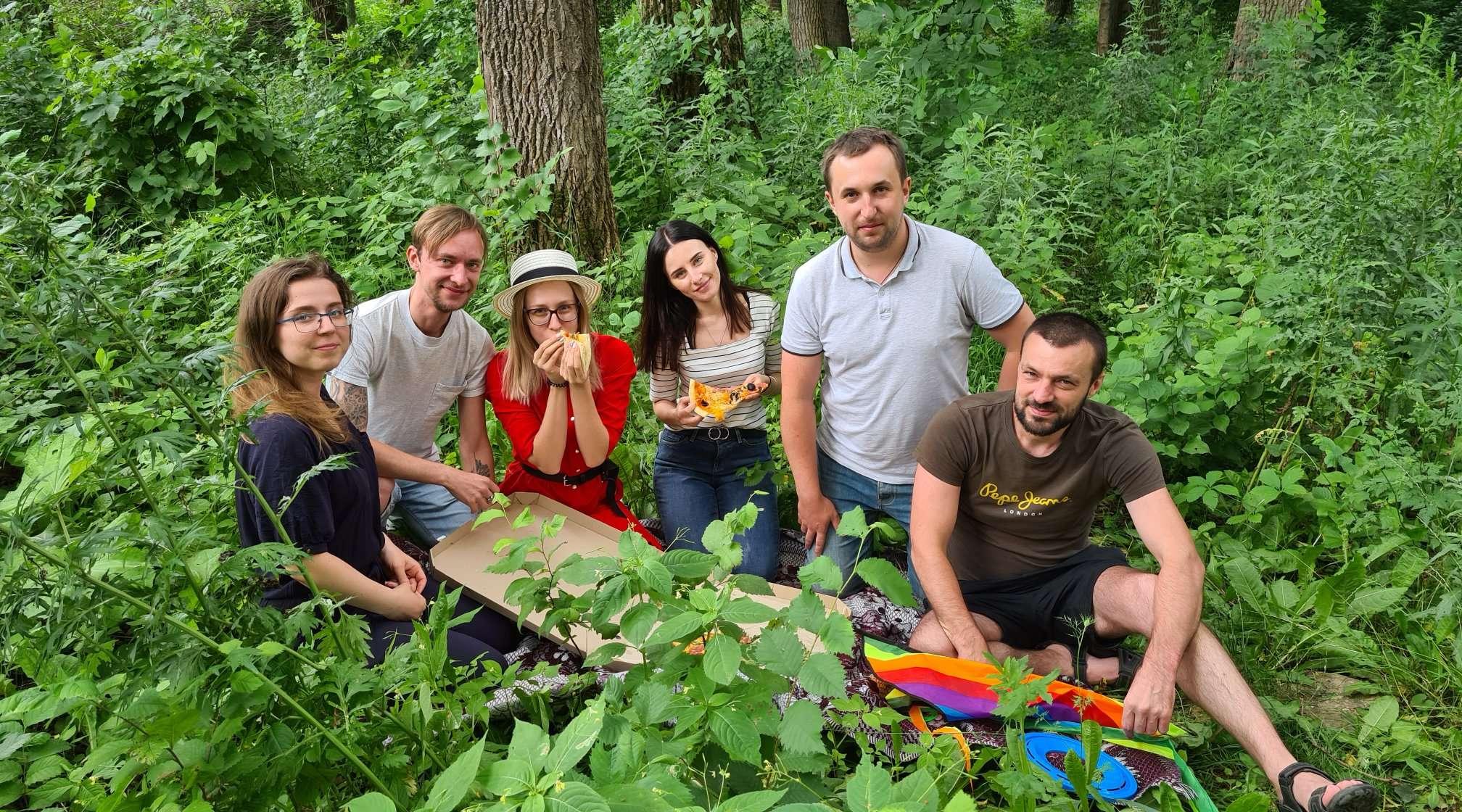 Picnic in Khmelnytskyi