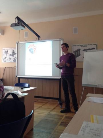Zaporizhzhya career fair QATestLab lecturer