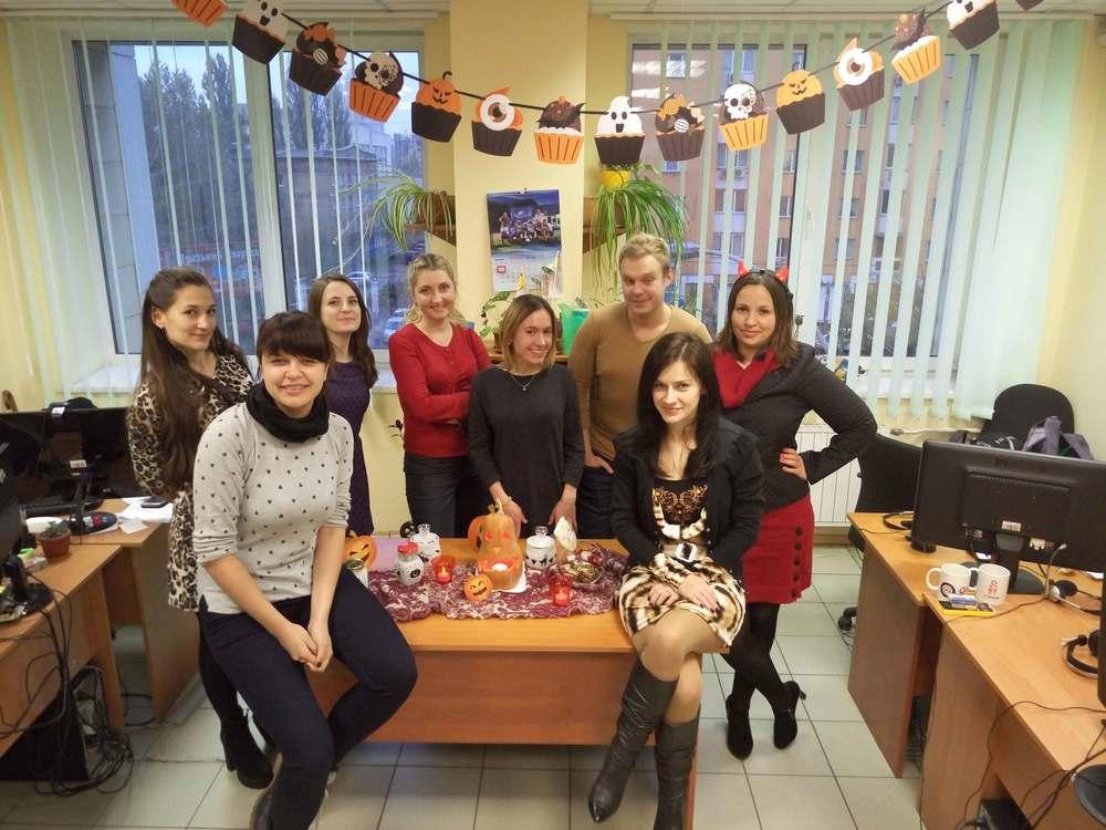Kyiv Halloween party