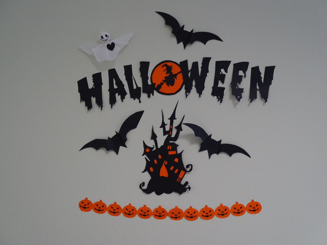 QATestLab Halloween scary house