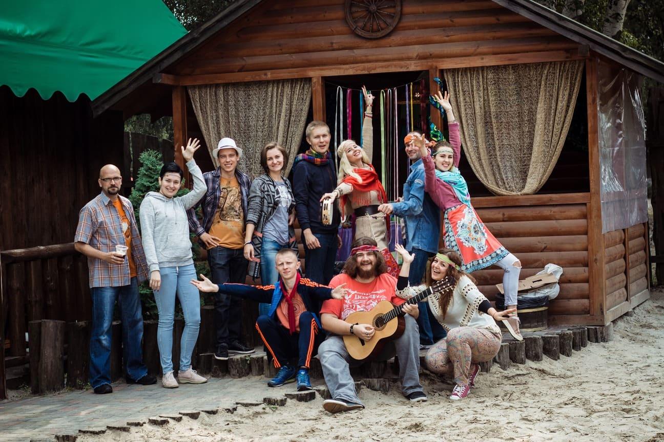 Hippie party in QATestLab