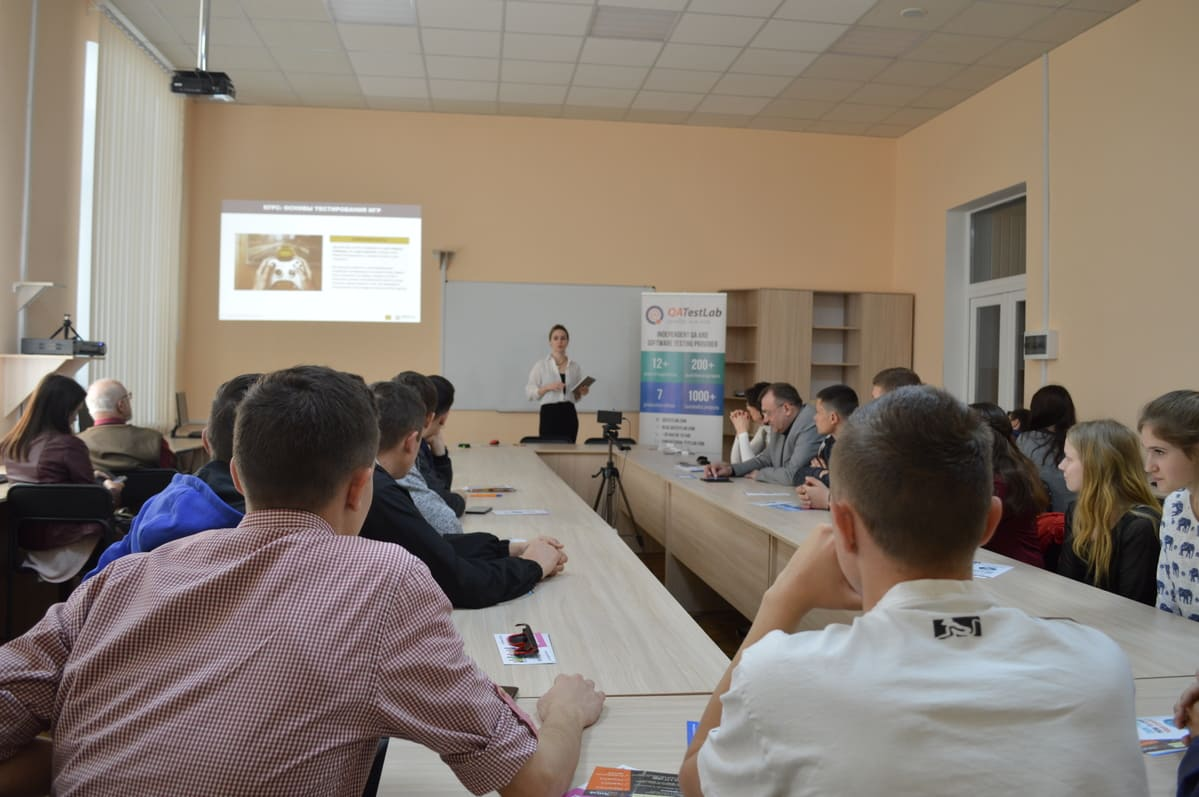 Job fair at Poltava Agrarian Academy