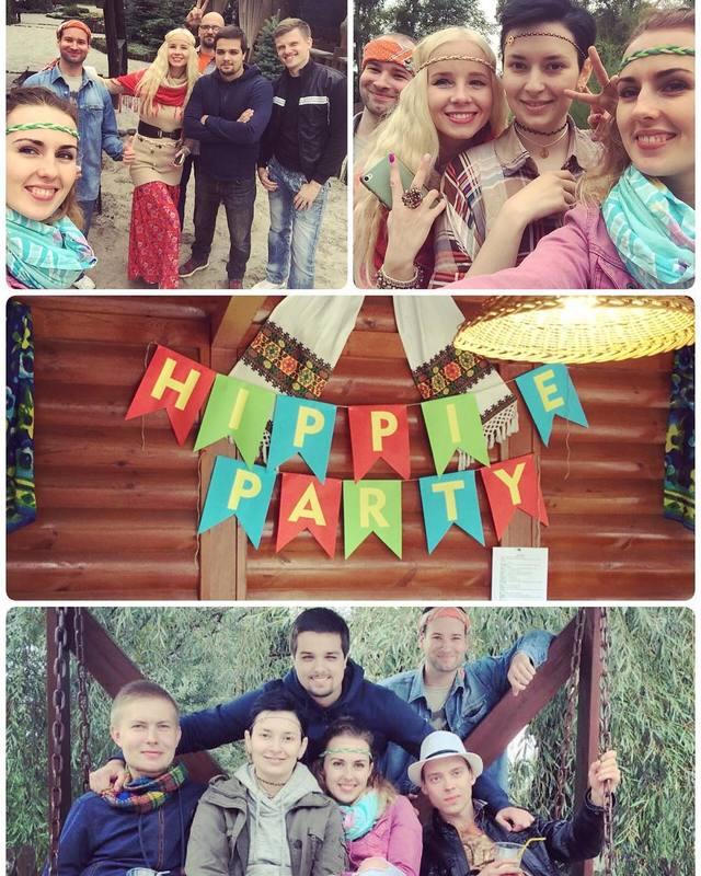 QATestLab hippies party in Poltava