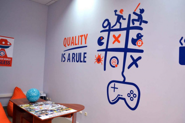 Quality is a rule slogan