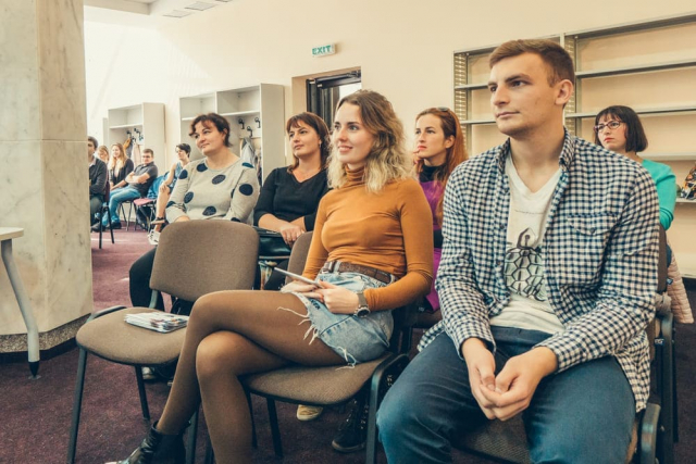 Attendee at Sumy coworking