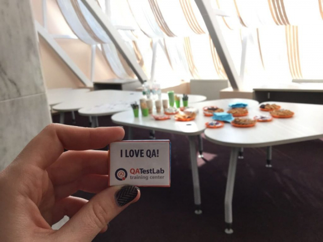 I love QA candy at Sumy coworking