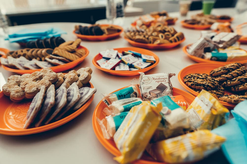 Tasty snacks at Sumy coworking