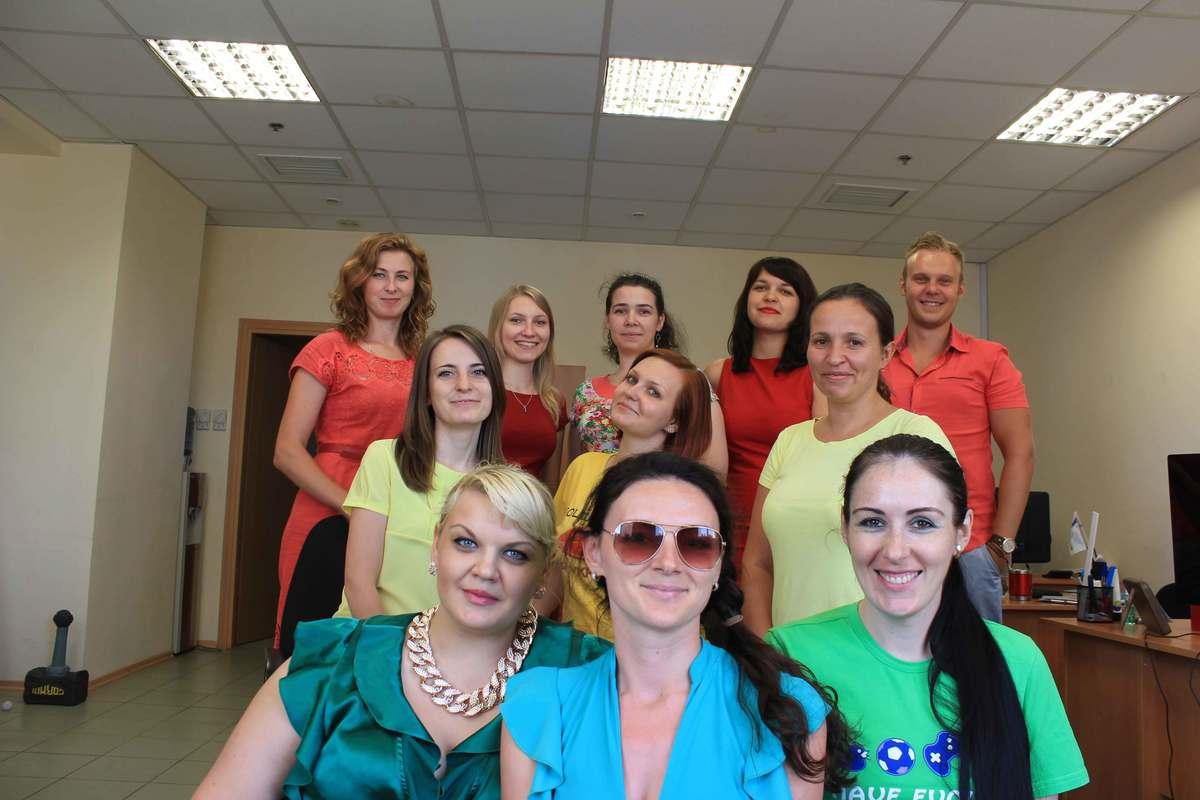 Traffic lights Day in Kyiv