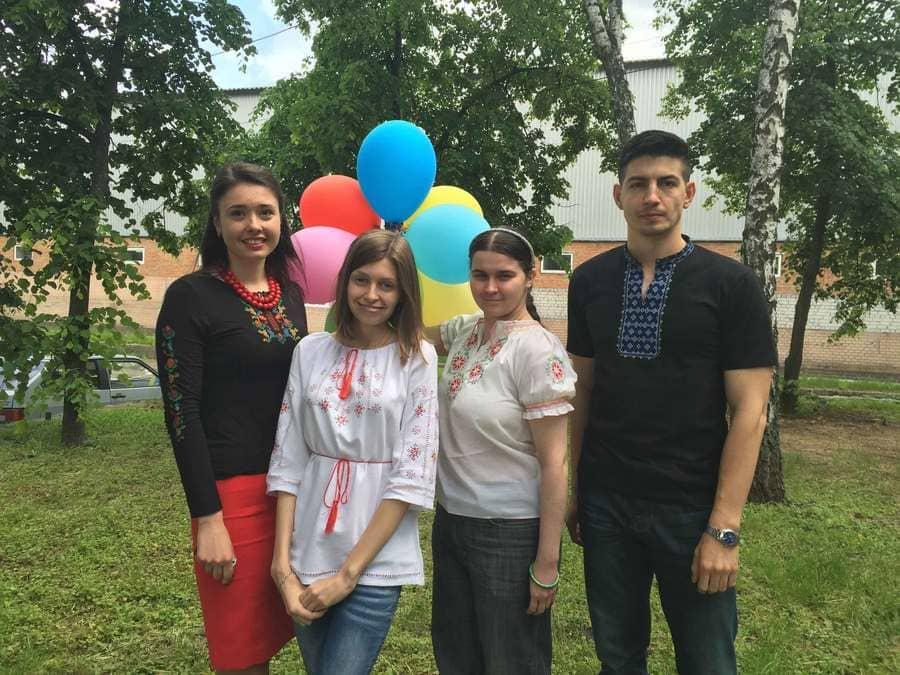 Cherkassy cellebrate Vyshyvanka day