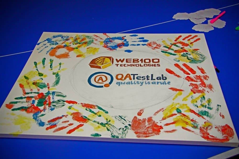 WEB100 - QATestLab art