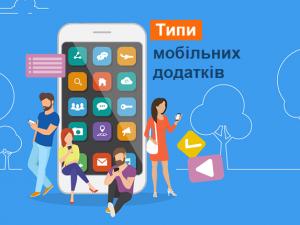 Типи мобільних додатків